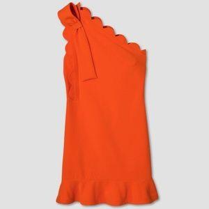 $$Victoria Beckham One Shoulder Dress
